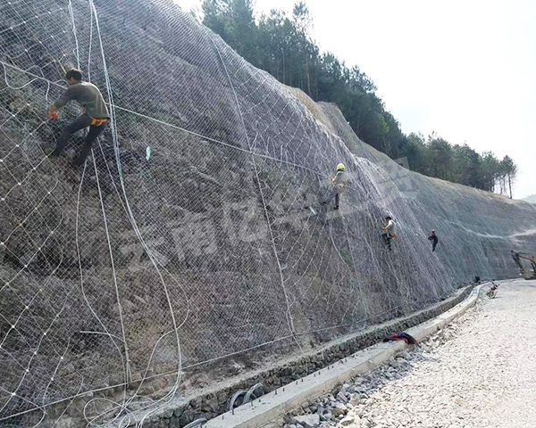 公路sns柔性邊坡防護網