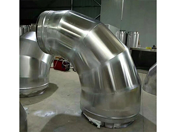 双层不锈钢烟囱(变径弯头)