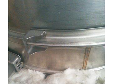 双层不锈钢烟囱(烟管连接卡箍)