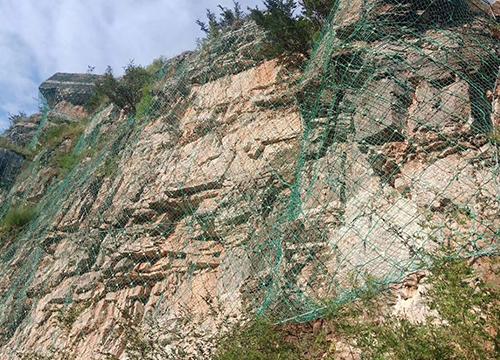 山体滑坡边坡防护网