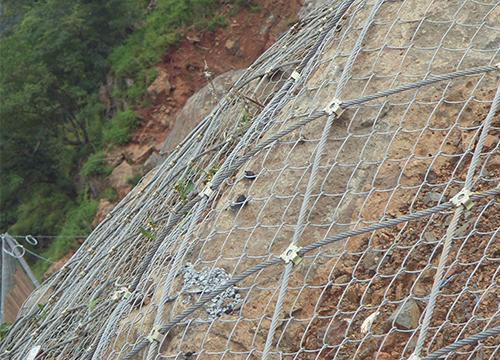 云南高速路边坡防护网
