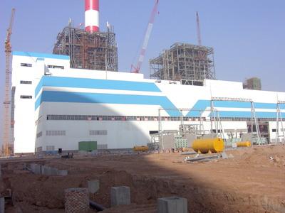 韓城電廠二期設備基礎灌漿料
