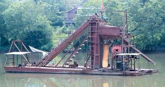 信阳/商丘抽沙船的设计参数与船体稳定性