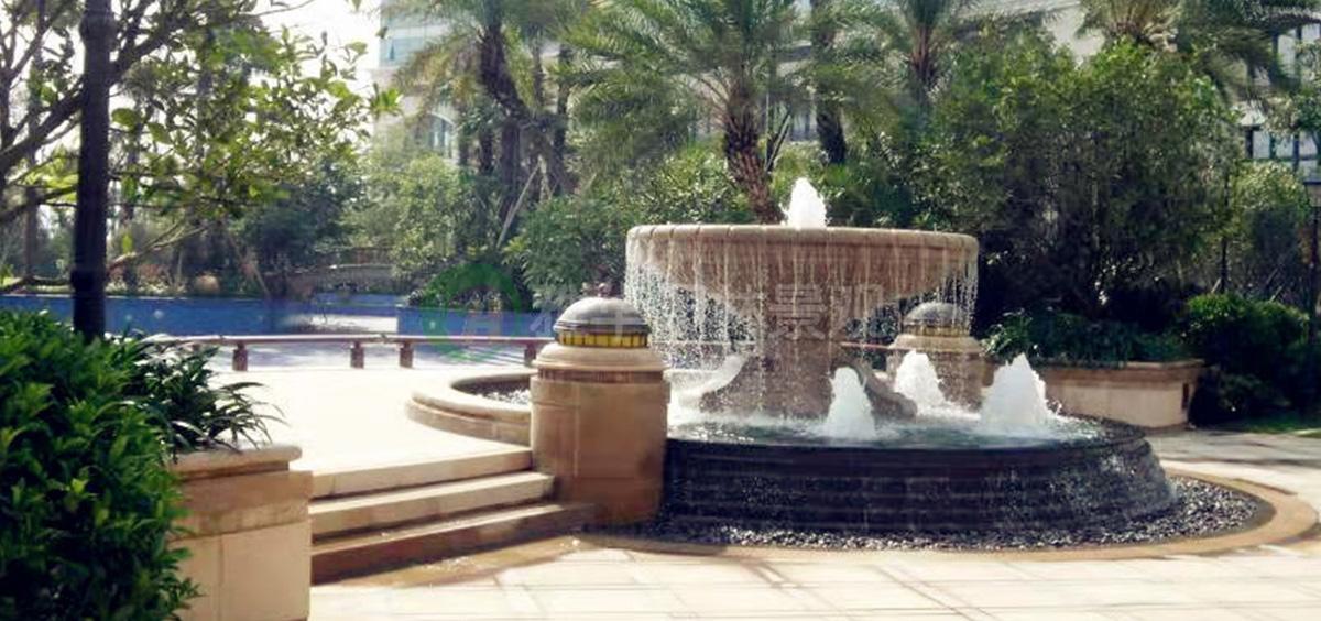 福建喷泉景观