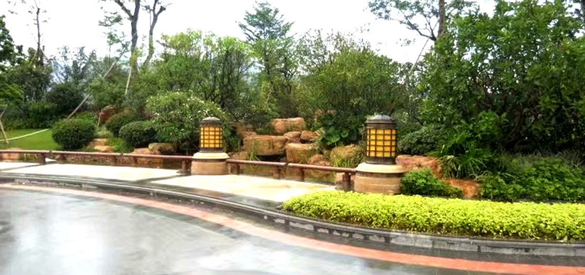 福建别墅庭院景观设计