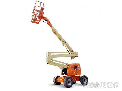 长沙高空租赁公司告诉您高空作业车的特点和发展