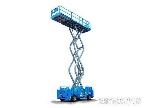 关于长沙剪叉式升降机应用知识介绍