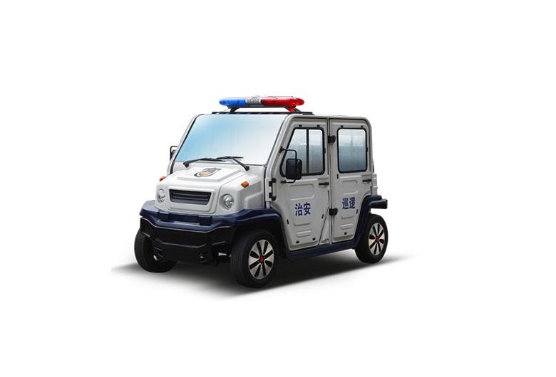 封闭式电动巡逻车