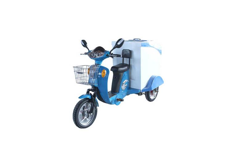 三轮电动垃圾车