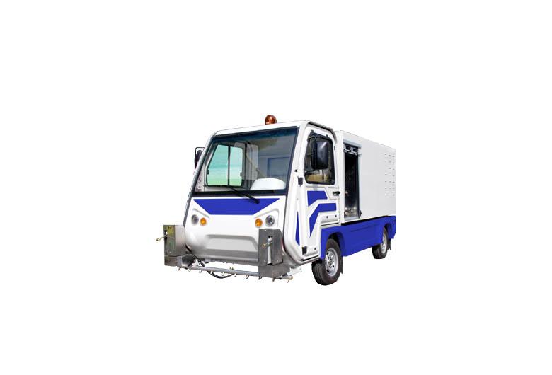 电动环卫扫地车