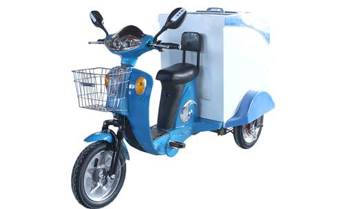 小区电动清洁环卫运输车