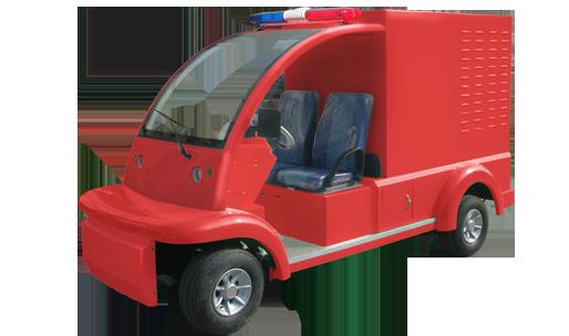 小区电动消防车是否要上牌?