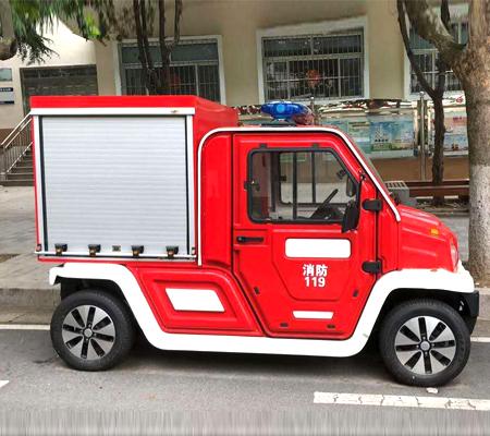 西安四轮电动消防车