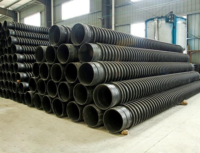 浅谈福州HDPE钢带增强缠绕管的介绍及特点