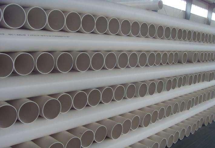 PVC排水管仓库