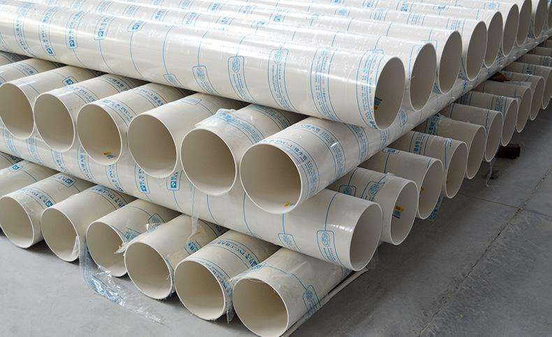PVC雨水管仓库1