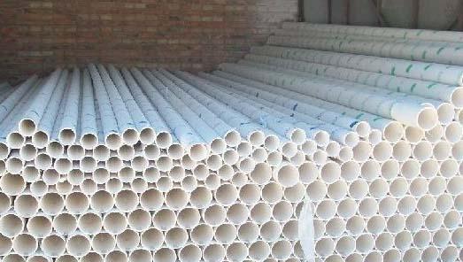 PVC雨水管仓库2