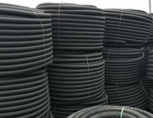 碳素pe螺纹管