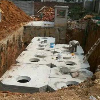 成品钢筋混凝土化粪池
