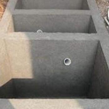 一体式三格化粪池10
