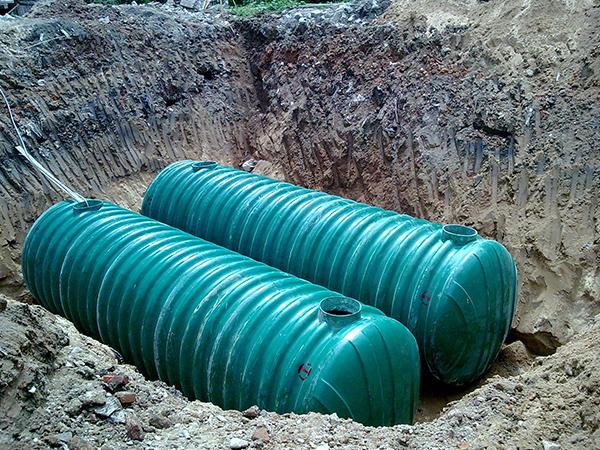 福州融僑地產玻璃鋼化糞池安裝