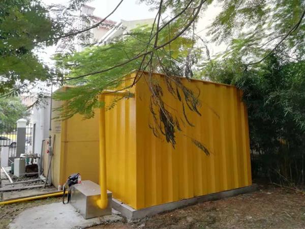 碳鋼汙水處理設備安裝