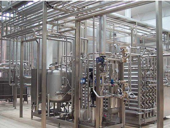 食品生产线中的应用到的不锈钢案例