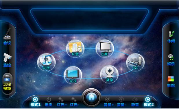 云平台中央控制系统