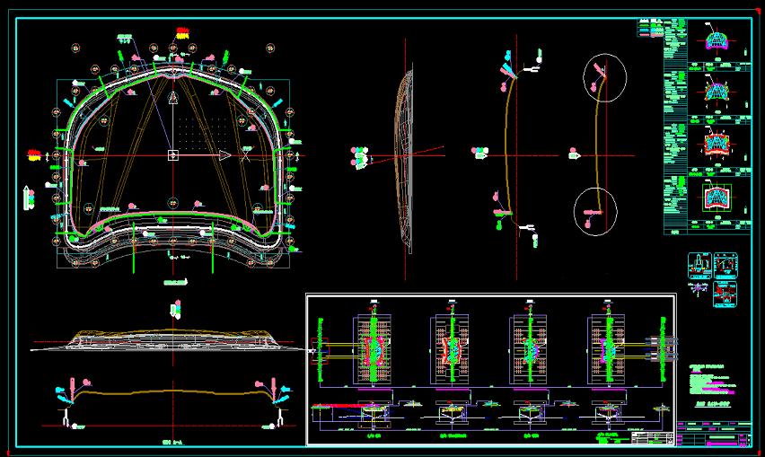 汽车引擎盖模具设计