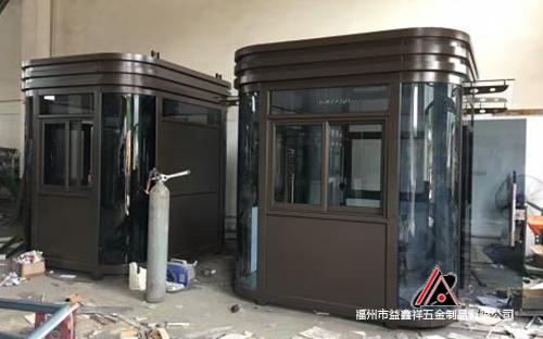 鋼構鋁塑板崗亭廠家