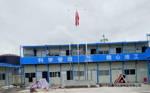 宁德漳湾不锈钢旗杆