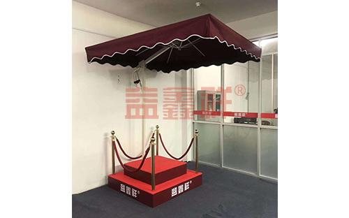 站崗亭遮陽傘