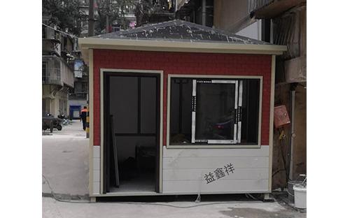 福州市台江区南禅新村金属雕花板岗亭