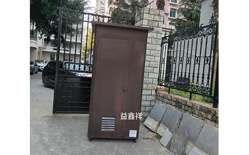 福州長樂錦江花園304不銹鋼氟碳漆崗亭