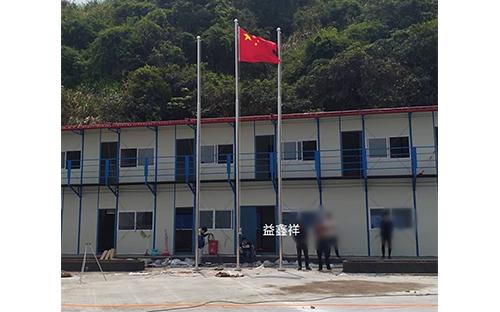 福建寧德蕉城區不銹鋼變徑旗桿
