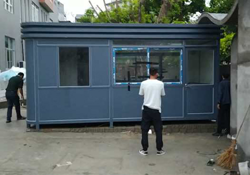 福州市閩清縣農村電子商務公共服務中心鋼結構崗亭