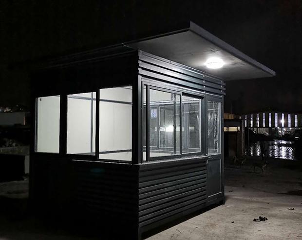 羅源-鋼結構氟碳漆崗亭