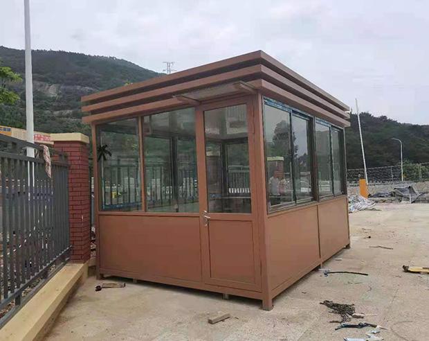 福州市马尾水岸君山钢结构岗亭