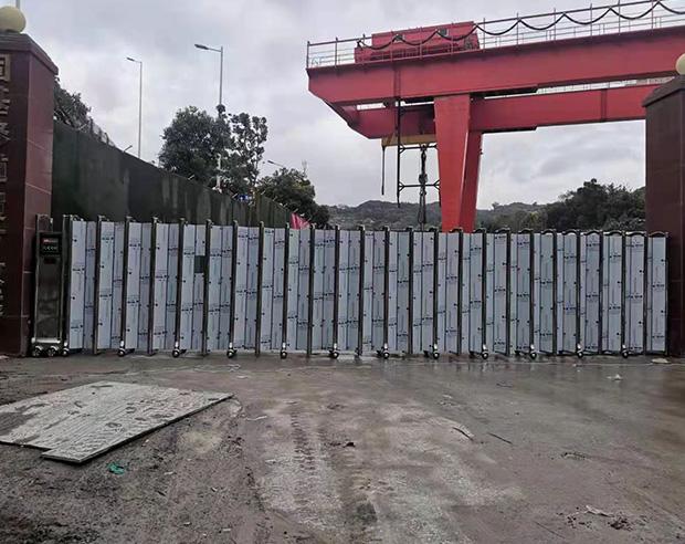 福州市倉山區黃山車管所對面不銹鋼屏風門