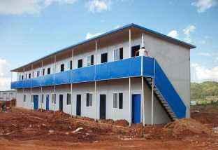 工地上二层临建板房