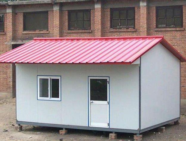 彩钢活动板房门