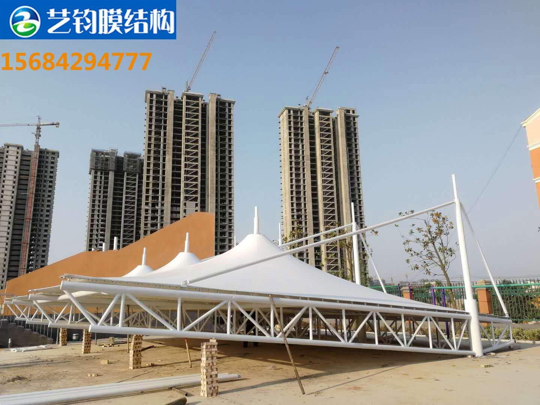 菏泽鄄城小学膜结构看台