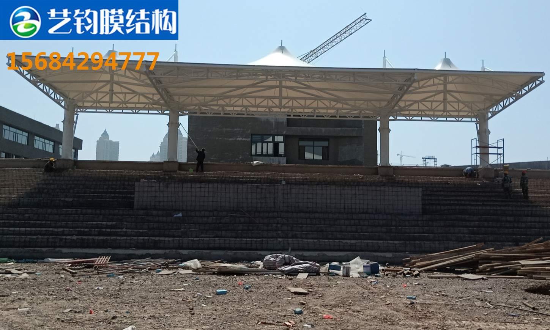 葫芦岛龙港区龙湾中学膜结构看台