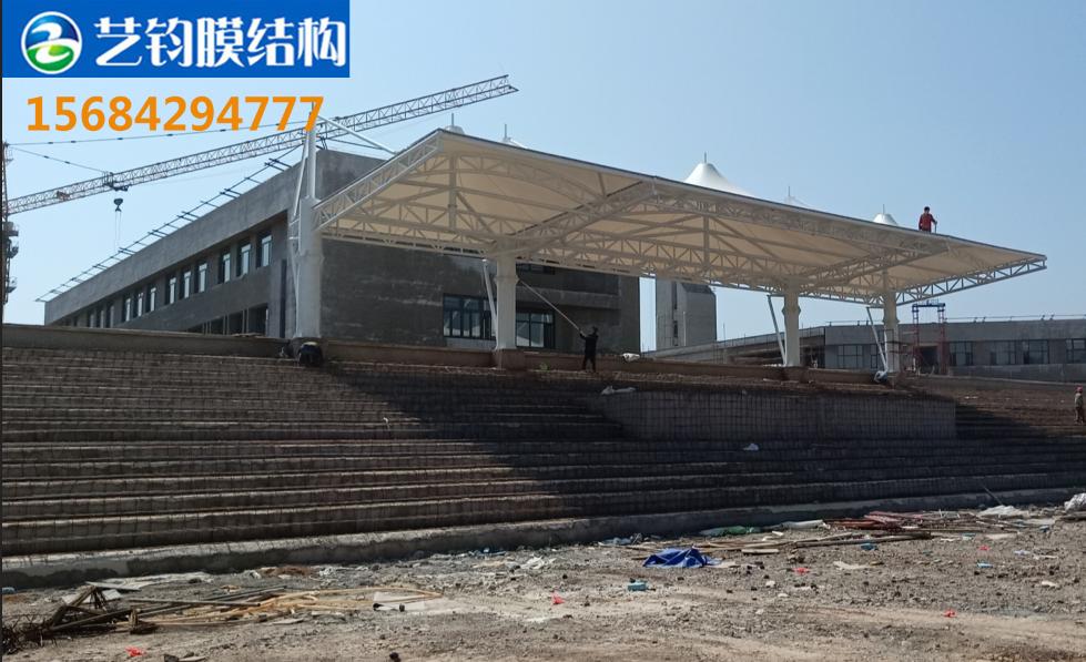 葫芦岛龙港区龙湾中学膜结构看台案例展示