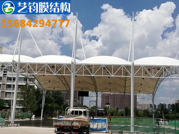 上海球场膜结构