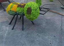 仿真绿雕植物清理维护保养注意事项