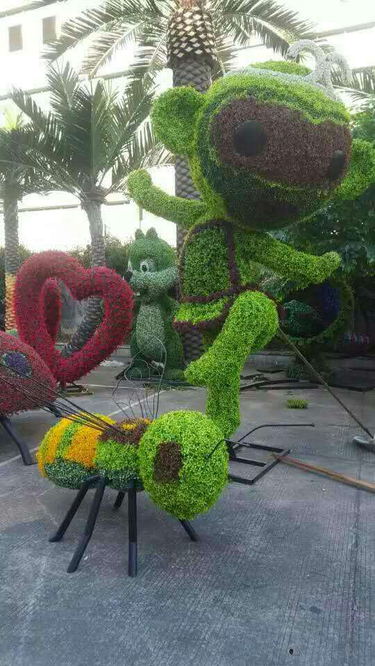 沈阳植物雕塑