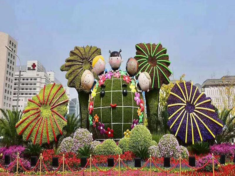 城市绿雕工艺品
