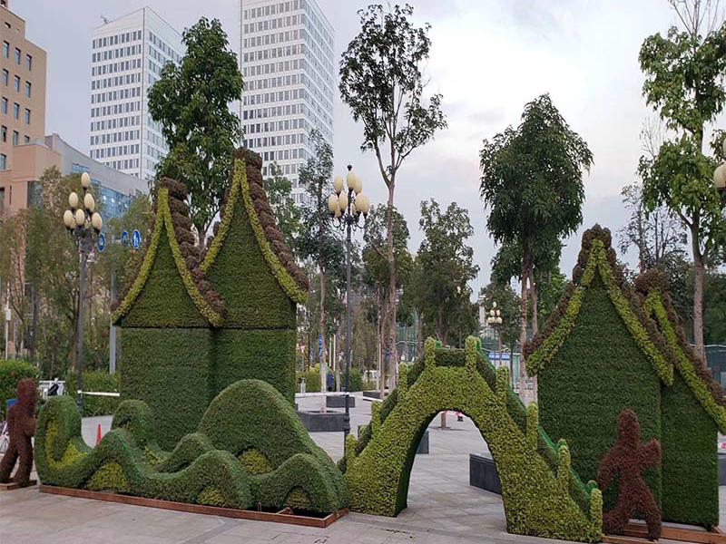 植物城市绿雕