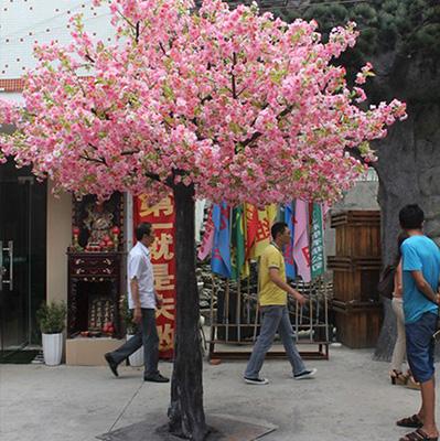 户外仿真桃花树